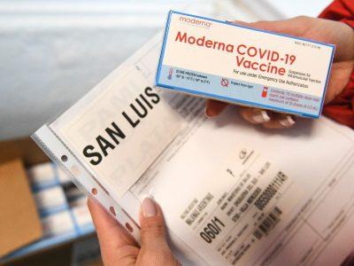Se distribuyen otras 900 mil dosis de Moderna en todo el país 4