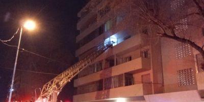 Incendio en un departamento en Barrio General San Martín 9