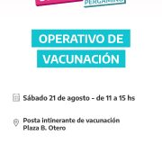 La Posta de Vacunación contra el COVID-19 estará en Barrio Otero 23