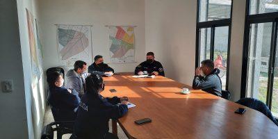 Funcionarios policiales y presidentes de ligas mantuvieron una importante reunión 8