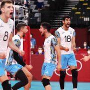 Voley Masculino: Argentina eliminó a Italia y está en semifinales de los Juegos Olímpicos 12