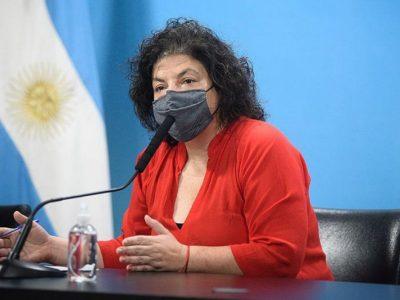 Según la ministra Vizzotti: En Noviembre podrían vacunarse con terceras dosis los grupos de riesgo 4