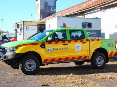 Defensa Civil y SAME sumaron una nueva camioneta 6