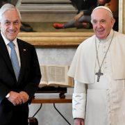 El Papa recibió al presidente chileno Piñera en el Vaticano 3