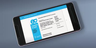 La credencial de vacunación digital de Mi Argentina será la acreditación internacional de la vacunación contra el Covid-19 8