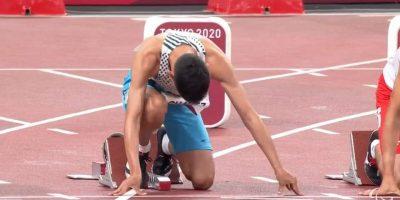 Tokio 2020: Alexis Chávez clasificó a la final de los 100 mts 10