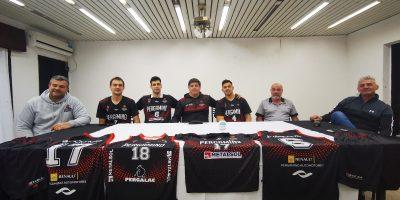 Pergamino Básquet presentó su equipo para la Liga Argentina 5