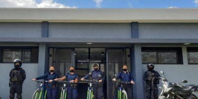 Volvieron los policías en bicicleta 10