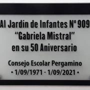 Consejeros escolares participaron de los 50 años del Jardín de Urquiza 4