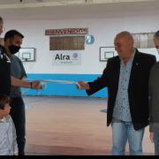 """Juventud inauguró """"El Doradito"""" la primera cancha para no videntes o disminuidos visuales de la ciudad 12"""