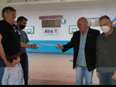 """Juventud inauguró """"El Doradito"""" la primera cancha para no videntes o disminuidos visuales de la ciudad 2"""