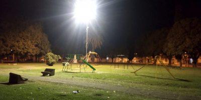 Finalizó el recambio a luces LED en un sector del Barrio Acevedo 29