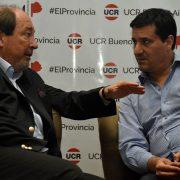 Sanz y Abad mantuvo una reunión con con legisladores de la UCR 15