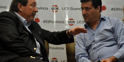 Sanz y Abad mantuvo una reunión con con legisladores de la UCR 10
