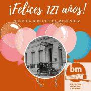 121 años de la Biblioteca Menéndez 14