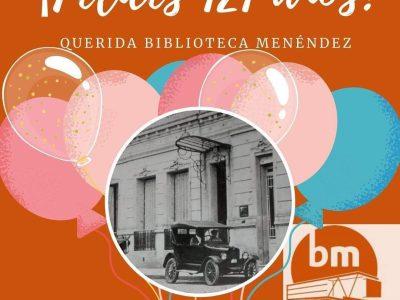 121 años de la Biblioteca Menéndez 1