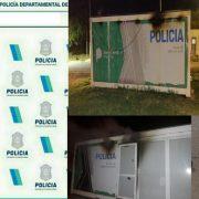 Se incendió el puesto móvil ubicado en Barrio Güemes: Hablamos con el Comisario Scoropad 5