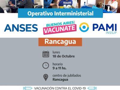 El operativo ANSES-PAMI llegó este lunes a Rancagua 7