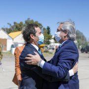 Capitales Alternas: Alberto Fernández llegó a Chubut 12