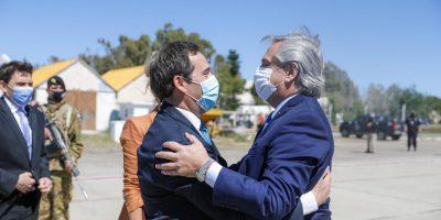 Capitales Alternas: Alberto Fernández llegó a Chubut 7