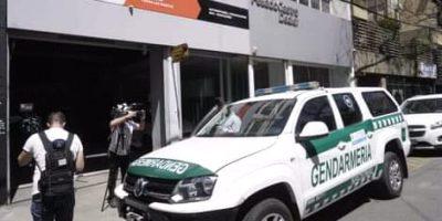 Gendarmería realizo allanamientos por una causa de lavado de dinero 8