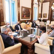 El Presidente analizó un proyecto de ley en beneficio de los trabajadores de la economía popular 14
