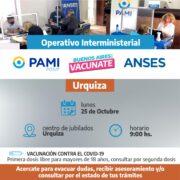 El operativo ANSES-PAMI estará en Urquiza 13