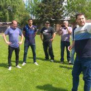 Aprevide mantuvo una reunión con directivos de la Liga de Fútbol de Pergamino 2