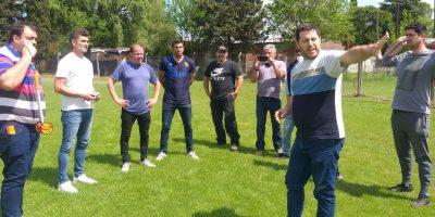 Aprevide mantuvo una reunión con directivos de la Liga de Fútbol de Pergamino 9