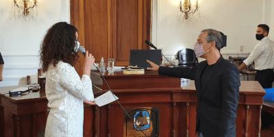 Karim Dib asumió como concejal 10